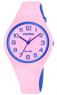 Calypso K5777 Kinderuhr analog Kunststoff bicolor Armbanduhr Uhr K5777/1