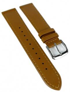 Timex Multifunktion Chronograph Ersatzband 20mm Leder braun helle Naht TW2R29100