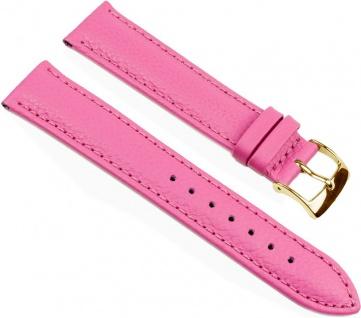 Eulit Fancy Fashion Uhrenarmband Rindsleder Band Pink 25479G