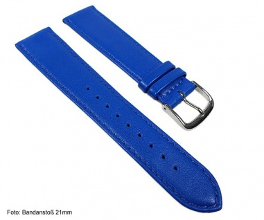 Miami Uhrenarmband Kalbnappa Band Blau / Enzian 22574S - Vorschau 2
