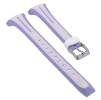 Calypso Sport Uhrenarmband Kunststoff Band mehrfarbig mit Schließe silberfarben K5682/7