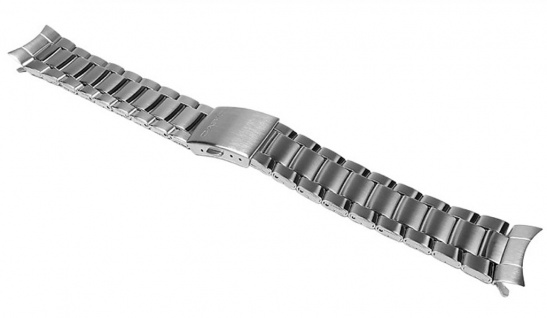 Casio Uhrenarmband Edelstahl Band Silberfarben für EFA-118D