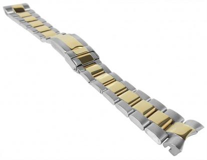 Minott Edelstahlband 20mm   bicolor u.a. passend für RLX Submariner   Massiv mit Faltschließe 34181 - Vorschau 1