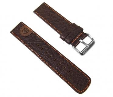 s.Oliver Uhrenarmband Leder Band 22mm Braun SO-1734-LQ