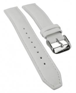 Bruno Banani Taras Ersatzband 19mm in weiß aus Leder TL0 206 306 BR21115 BR21116