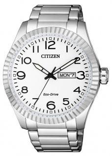Citizen Eco-Drive Herren-, Solaruhr | Edelstahlband silberfarben |10 bar > BM8530-89A