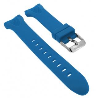 Calypso Uhrenarmband blau Band aus Kunststoff mit Breitdornschließe K5741/5