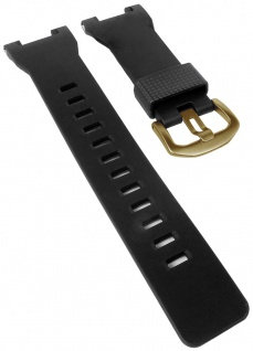 Casio Armband Uhrenarmband Resin Band Wasserfest schwarz für Pro Trek PRW-7000V