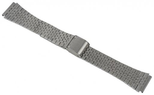 Timex Classic Digital Uhrenarmband Edelstahl Band silberfarben TW2P48300