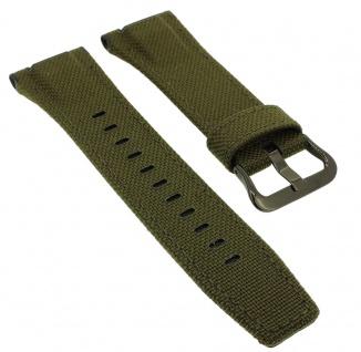 Casio G-Shock Ersatzband Textil / Leder grün GST-W130BC-1A3 GST-W130