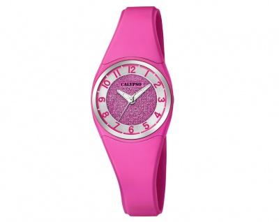 Calypso Kinderarmbanduhr pink Quarzuhr Analoguhr Kunststoff Band K5752/5