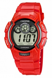 Calypso Armbanduhr Herrenuhr Digital Uhr Chronograph 10 ATM K5592/3