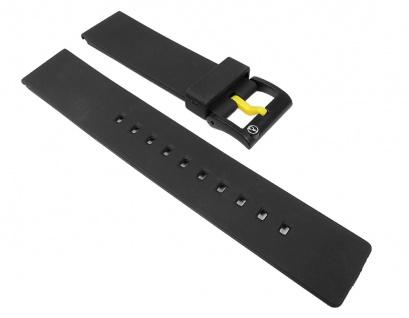Q&q SmileSolar Ersatzarmband Uhrenarmband Kunststoff Band 20mm 26509