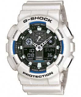Casio G-SHOCK Herrenuhr Armbanduhr Weltzeit Funktion Antimagnetisch GA-100B-7AER