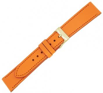 Minott Ersatzband Kalbsleder orange Verlauf Ton in Ton Naht Made in Europa