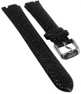 Esprit Ersatzband Leder Spetzialanstoß schwarz Flechtoptik ES000J42