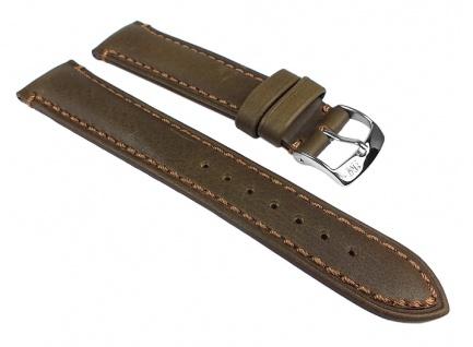 Morellato Derain Uhrenarmband Leder Band Olivgrün 24610S