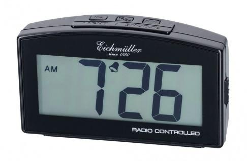 Wecker Reisewecker Alarm Digital Kunststoff schwarz mit Schlummer Funktion