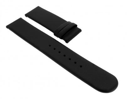 Junghans MEGA SOLAR | Uhrenarmband 20mm | Leder schwarz 018/1225