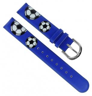 Adora Youngline Kinder Ersatzband 14mm Kunststoff blaues Band AY4356