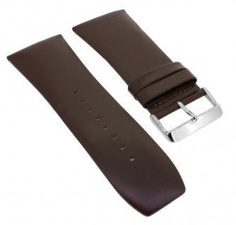 Bruno Banani Ersatzband 34mm braun glatt Leder DT6 100 304 DT6 102 302 DT6 900 308