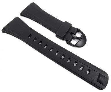 Casio Uhrenarmband Resin Band schwarz für DB-E30-1 DB-E30