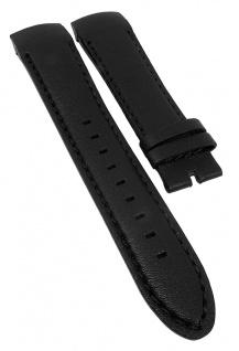 Police Cyber Ersatzband 22mm Leder schwarz flach P.12898LB1 P.12898