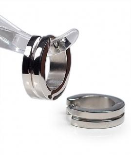 Minott Damen Ohrschmuck Ohrringe Creolen aus Titan - Hochglänzend 23285