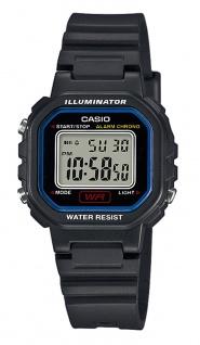 Casio Collection LA-20WH-1CEF digital Uhr mit Automatischer Kalender / Resin schwarz