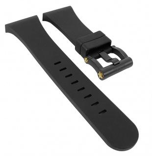 TW STEEL CEO Tech TWB682 Ersatzband | Silikon, schwarz für Renault F1 Team
