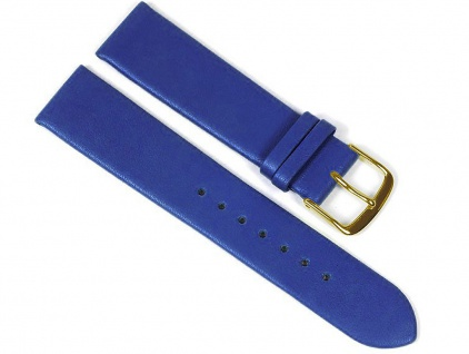 Berlin Uhrenarmband Kalbsleder Band Blau 23238G