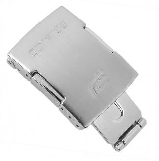 Casio Edifice Faltschließe Edeltstahl silbern EQS-A1000 EQW-A1000 EQW-M1000