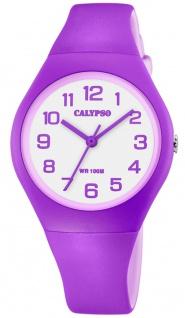 Calypso K5777 Armbanduhr Kinder Quarzuhr Kunststoff bicolor Uhr K5777/7
