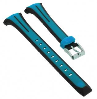 Calypso Sport Ersatzband Kunststoff blau Schließe silberfarben K5682/C