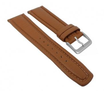 Graf Manufaktur Montana Uhrenarmband Walknappa Band XL Länge Braun 26352S