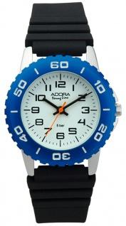 Adora Young Line Armbanduhr Analoguhr Sportuhr für Kinder aus Aluminium mit Kunststoffband 33138