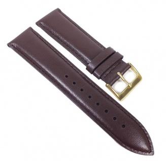 Casio Uhrenarmband Leder Band Braun 22mm für MTP-1343