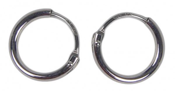 Minott Damen Ohrschmuck Ohrringe 925er Silberschmuck - Creolen 15mm 45007402