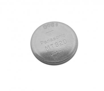Panasonic Knopfzellen Akku Batterie MT920 Lithium passt in Solar Casio Uhren Modelle