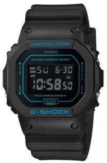 Casio G-Shock Digital Herrenuhr Resin IllumiOutdoorr schwarz DW-5600BBM-1ER