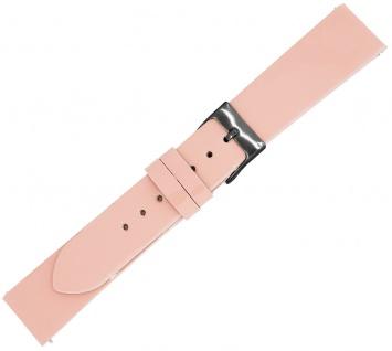 Minott Ersatzband rosa Lackleder Hochglanz Made in Europa Easy Click Federstege