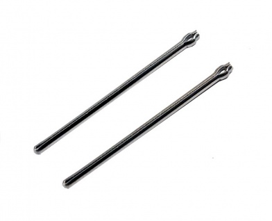 Minott Stifte | 2x Open End Pins / Splintstifte | Ø 0, 9 | 32281