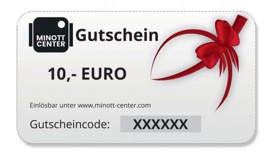 Minott Center   Geschenk-Gutschein im Wert von 10 Euro