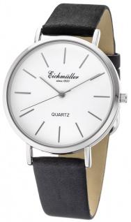 Eichmüller Herren Armbanduhr Quartz mit Datum Gehäusedurchmesser ca. Ø 40mm