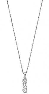 Lotus Silver Halsschmuck Collier Kette mit Anhänger und Zirkonia Silber LP1785-1/1