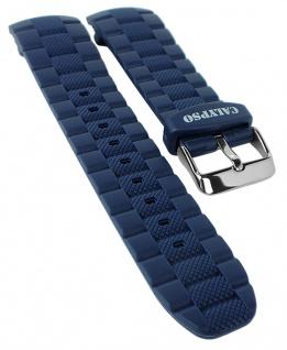 Calypso Uhrenarmband Kunststoff Band blau Schließe silbern K6062 K6062 /2