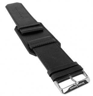 Bruno Banani Kosmos Ersatzband 34mm Leder schwarz glatt XK3 121 358 BR20806