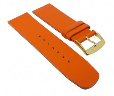 Graf Manufaktur Spree Damen Uhrenarmband Leder Band Orange 27097G