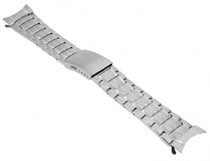 Casio Uhrenarmband Edelstahl Band Silberfarben für EF-328D EF-328