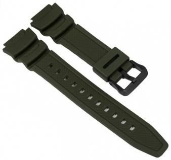AE-1000W AE-1100W Armband Casio Collection Resin grün